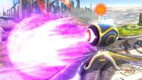 Un ojo asesino disparando en Super Smash Bros. para Wii U