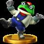 Trofeo de Slippy Toad SSB4 (Wii U).png