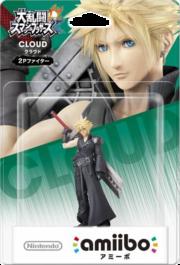 Embalaje del amiibo de Cloud - Jugador 2 (Japón).png