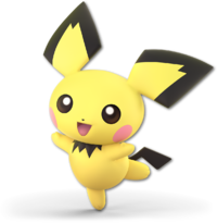 Art oficial de Pichu en Super Smash Bros. Ultimate