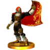 Trofeo de Ganondorf (Ocarina of Time) SSB4 (3DS).png