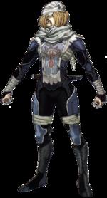 Arte conceptual de Sheik en The Legend of Zelda: Twlight Princess.