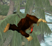 Ataque aéreo hacia atrás de Donkey Kong SSBM.png
