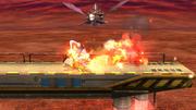 Meta Knight bajo los efectos del Curry Superpicante en SSB4 (Wii U).png