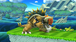 Giga Bowser en Super Smash Bros. for Wii U
