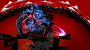 Ataque aéreo hacia delante de Joker+Arsene (1) Super Smash Bros. Ultimate.jpg