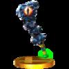 Trofeo de Maza de hierro SSB4 (3DS).png