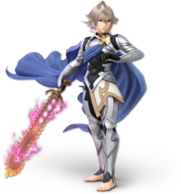 Art oficial de Corrin en Super Smash Bros. Ultimate