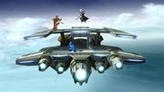 Daraen, Ike y Mega Man en Sistema Lylat SSB4 (Wii U).jpg
