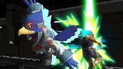 Falco golpeando a Captain Falcon SSBU.jpg