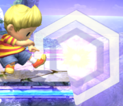 Ataque Smash inferior Lucas SSBB (3).png