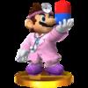 Trofeo de Dr. Mario (alt.) SSB4 (3DS).png