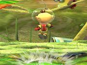 Ataque fuerte superior Olimar SSBB.jpg