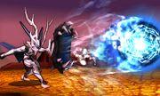 Corrin usando Tiro Colmillo Dragon SSB4 (3DS).jpg