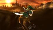 Ataque aéreo trasero de Link (1) SSB4 (Wii U).png