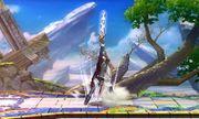 Ataque Smash hacia arriba Lucina SSB4 (3DS).jpg