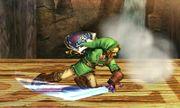 Ataque Smash inferior Link SSB4 (3DS).JPG