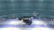 Ataque Smash hacia abajo Sheik SSBB (2).png