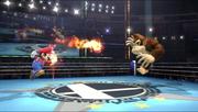 Bola de fuego personalizable (segundo efecto) en el aire SSB4 (Wii U).png