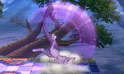 Ataque fuerte hacia arriba Mewtwo SSB4 (3DS).JPG