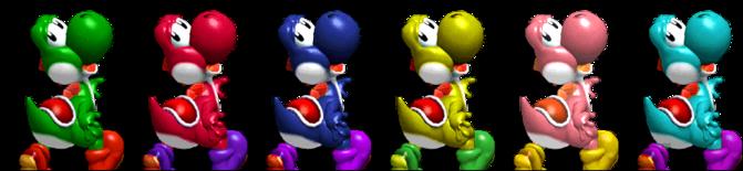 Paleta de colores Yoshi SSBM.png