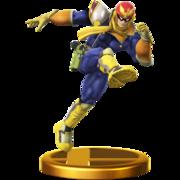 Trofeo de Captain Falcon SSB4 (Wii U).png