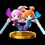 Trofeo de Kat y Ana SSB4 (Wii U).png