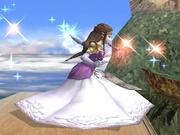 Ataque fuerte lateral Zelda SSBB.jpg