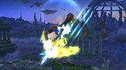 Espadachín Mii usando Carga de aura (2) SSB4 (Wii U).jpg