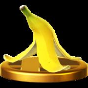 Trofeo de Cáscara de plátano SSB4 (Wii U).png