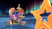 Banjo y Kazooie junto a un Superanillo estelar en La Cúspide SSBU.jpg