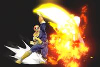 Vista previa de Salto predador en la sección de Técnicas de Super Smash Bros. Ultimate