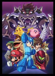 Ilustración de Mega Man SSB4.jpg