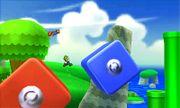 Mario y Luigi en el escenario Super Mario 3D Land SSB4 (3DS).jpg