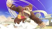 Donkey Kong usando Peonza Kong en SSBU.png