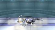 Ataque Smash hacia abajo Sheik SSBB (1).png