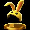 Trofeo de Capucha de conejo SSB4 (Wii U).png