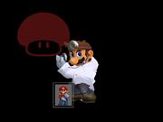 Pose de victoria Dr. Mario X (3) SSBM.png