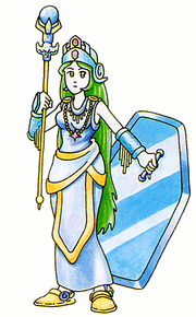 Artwork de Palutena en Kid Icarus.png