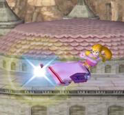 Ataque aéreo hacia atrás de Zelda SSBM.png
