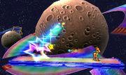 Samus y Estela en la Senda Arco Iris SSB4 (3DS).jpg