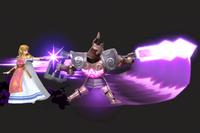 Vista previa de Ataque del espectro en la sección de Técnicas de Super Smash Bros. Ultimate