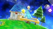 Estela evitando la Poké Ball con un movimiento especial SSB4 (Wii U).png