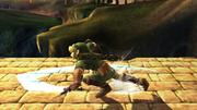 Ataque Smash hacia abajo Link SSBB (2).png