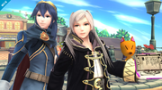 Lucina y Daraen SSB4 (Wii U).png
