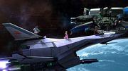 Palutena, Peach y Samus en la Estación espacial SSB4 (Wii U).jpg