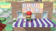 Ataque Smash hacia abajo Ness (1) SSB4 (Wii U).JPG