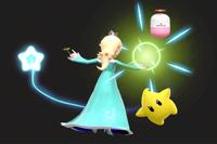 Vista previa de Antigravedad en la sección de Técnicas de Super Smash Bros. Ultimate