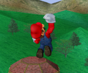 Ataque fuerte hacia arriba de Mario SSBM.png