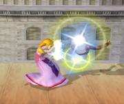Lanzamiento delantero de Zelda (1) SSBM.png